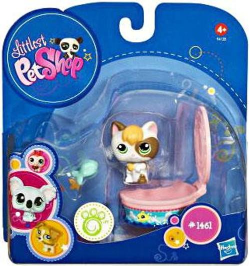 Littlest Pet Shop 2010 Assortment B Series 3 Kitten Figure #1461 [Tuna Can]
