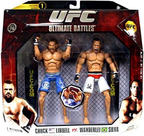 UFC Collection Series 1 Chuck Lidell vs. Wanderlei Silva Action Figure 2-Pack [UFC 79]