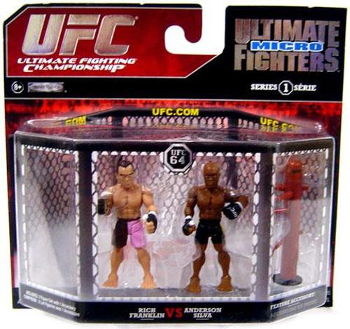 UFC Ultimate Micro Fighters Series 1 Anderson Silva vs. Rich Franklin Mini Figure 2-Pack [UFC 64]