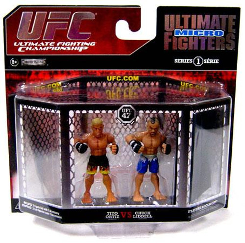 UFC Ultimate Micro Fighters Series 1 Chuck Lidell vs. Tito Ortiz Mini Figure 2-Pack [UFC 47]