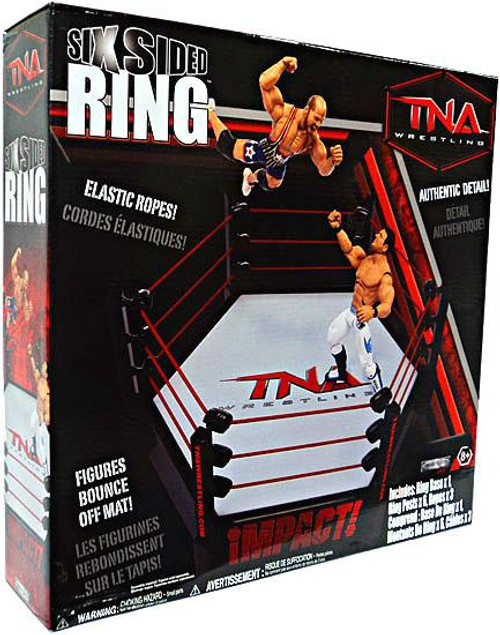 TNA Wrestling Playsets Six Sided Ring Action Figure Playset