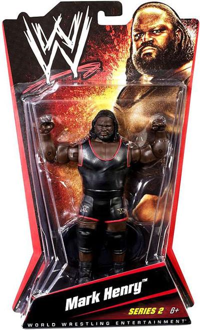 WWE Wrestling Series 2 Mark Henry Action Figure