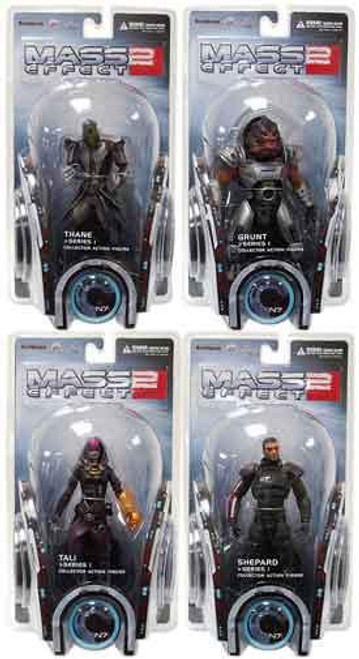 Mass Effect 2 Series 1 Set of 4 Action Figures