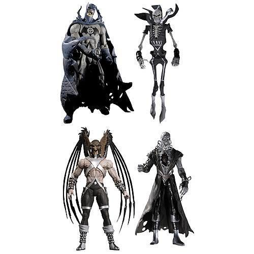 DC Green Lantern Blackest Night Series 5 Set of 4 Action Figures