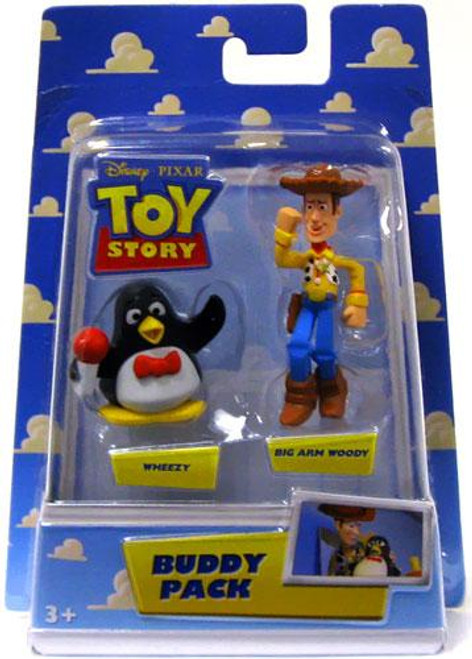 Toy Story Buddy Pack Wheezy & Big Arm Woody Mini Figure 2-Pack