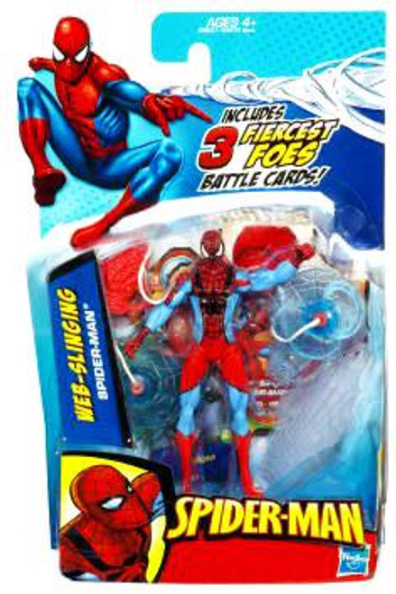 Spider-Man 2010 Web Slinging Spider-Man Action Figure