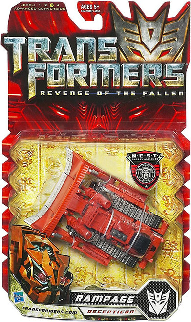 Transformers Revenge of the Fallen Rampage Deluxe Action Figure [Red]