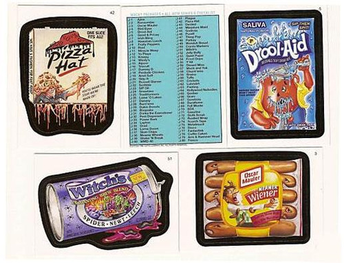 Wacky Packages Series 6 Complete Set