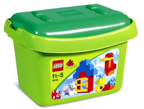 LEGO Duplo Green Brick Box Set #5416