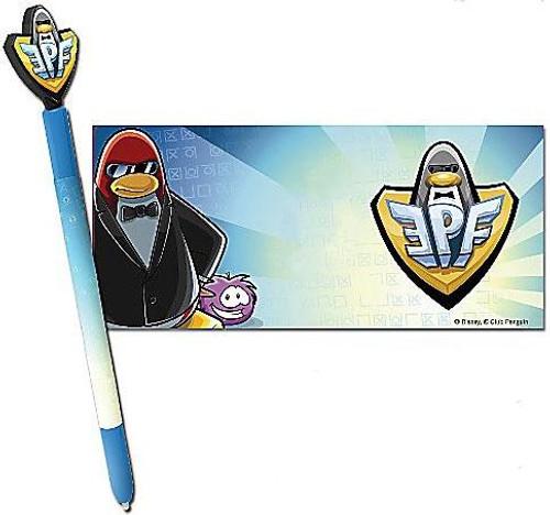 Club Penguin Nintendo DS Elite Force Club Stylus Pen & Skin