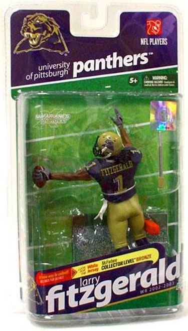 McFarlane Toys NCAA College Football Sports Picks Series 2 Larry Fitzgerald Action Figure [Dark Blue Jersey]
