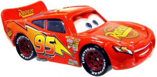 Disney Cars Loose Lenticular Red Lightning McQueen Diecast Car [Loose]