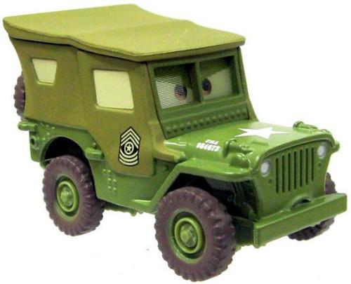 Disney Cars Loose Lenticular Sarge Diecast Car [Loose]
