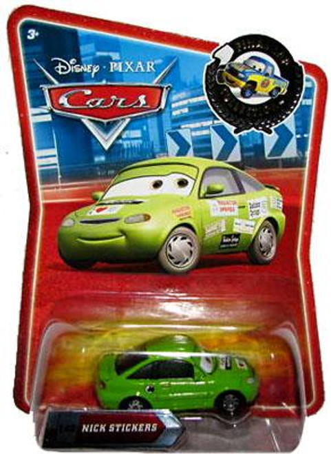 Disney Cars Final Lap Collection Nick Stickers Exclusive Diecast Car
