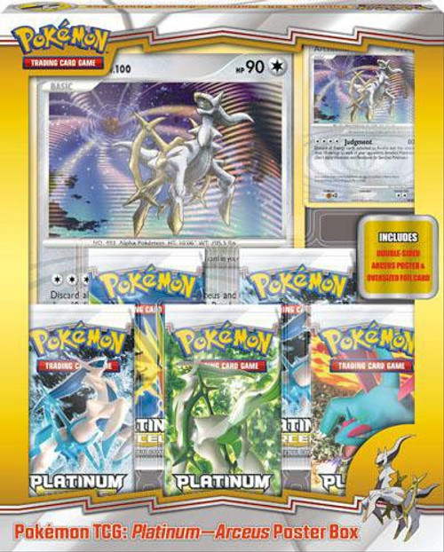 Pokemon Platinum Arceus Arceus Poster Box