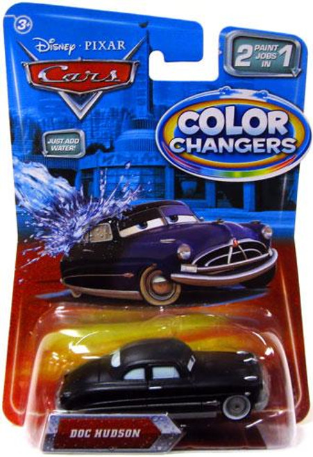 Disney Cars Color Changers Doc Hudson Diecast Car