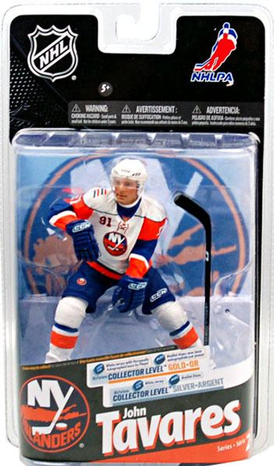 McFarlane Toys NHL New York Islanders Sports Picks Series 24 John Tavares Action Figure [White Jersey with Signature]