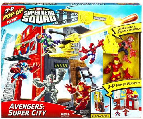 Marvel Super Hero Squad Avengers: Super City