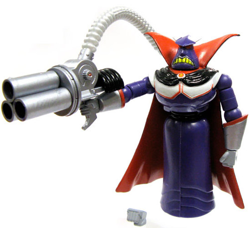 Toy Story and Beyond Japanese Real Figure Emperor Zurg 3.5-Inch PVC Figure