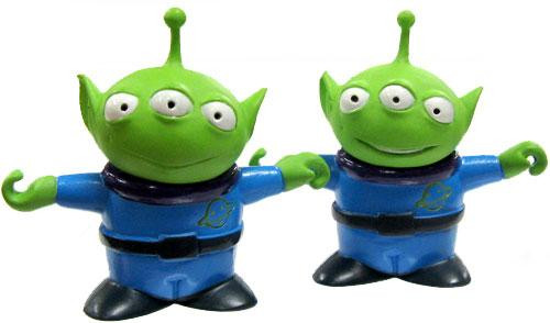 Toy Story and Beyond Japanese Real Figure Alien 2-Inch PVC Figures