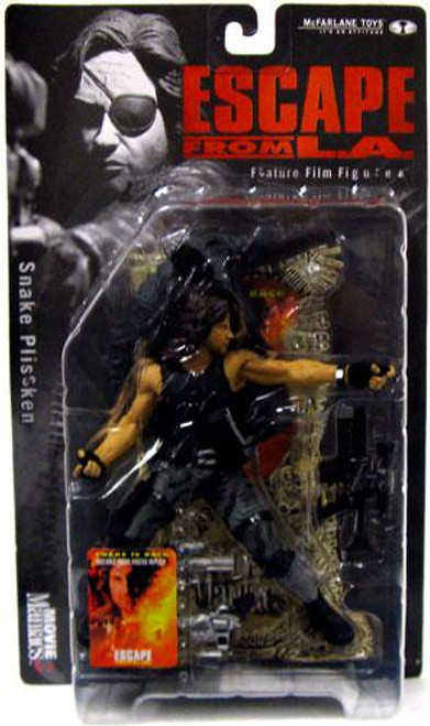 McFarlane Toys Escape From L.A. Movie Maniacs Series 3 Snake Plissken Action Figure