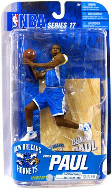 McFarlane Toys NBA New Orleans Hornets Sports Picks Series 17 Chris Paul Action Figure [Teal Jersey]