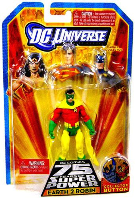 DC Universe 75 Years of Super Power Infinite Heroes Earth 2 Robin Action Figure
