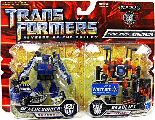Transformers Revenge of the Fallen Exclusives Road Rival Showdown Exclusive Deluxe Action Figure 2-Pack