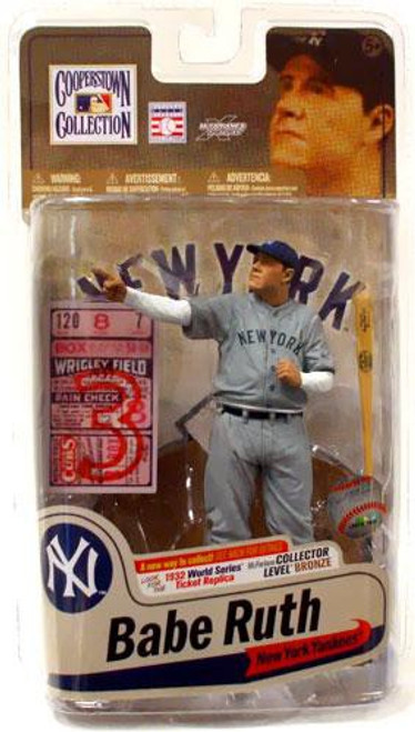 McFarlane Toys MLB Cooperstown Collection Series 7 Babe Ruth Action Figure [1932 World Series]
