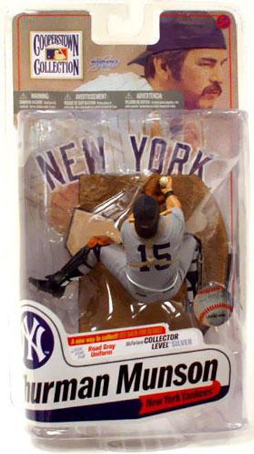 McFarlane Toys MLB Cooperstown Collection Series 7 Thurman Munson (New York Yankees) Action Figure [Gray Uniform]