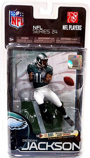 McFarlane Toys NFL Philadelphia Eagles Sports Picks Series 24 DeSean Jackson Action Figure [Green Jersey]