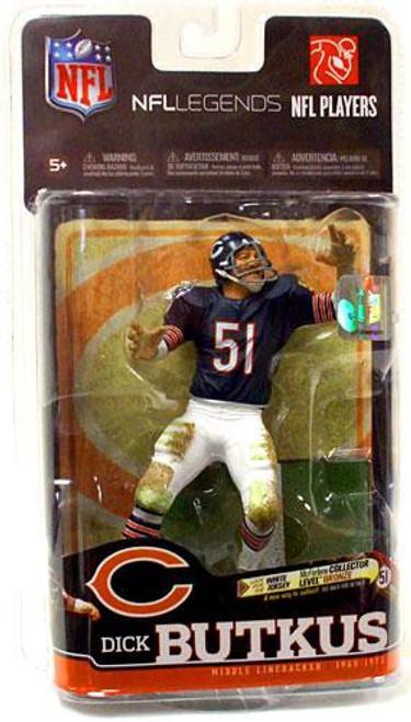 McFarlane Toys NFL Chicago Bears Sports Picks Legends Series 6 Dick Butkus Action Figure [Blue Jersey]