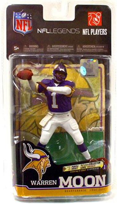 McFarlane Toys NFL Minnesota Vikings Sports Picks Legends Series 6 Warren Moon Action Figure [Purple Jersey]