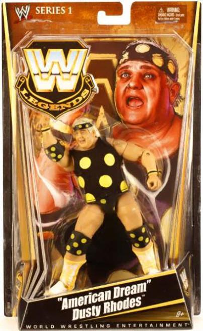 "WWE Wrestling Legends Series 1 ""American Dream"" Dusty Rhodes Action Figure"