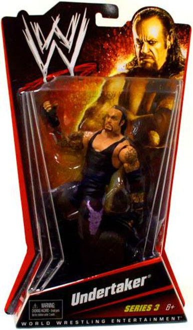 WWE Wrestling Series 3 Undertaker Action Figure