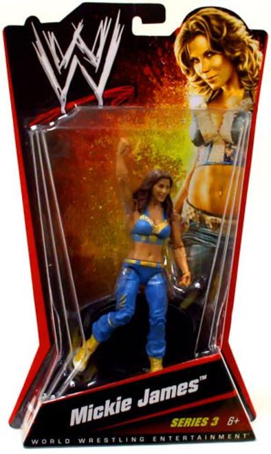 WWE Wrestling Series 3 Mickie James Action Figure [No Belt]