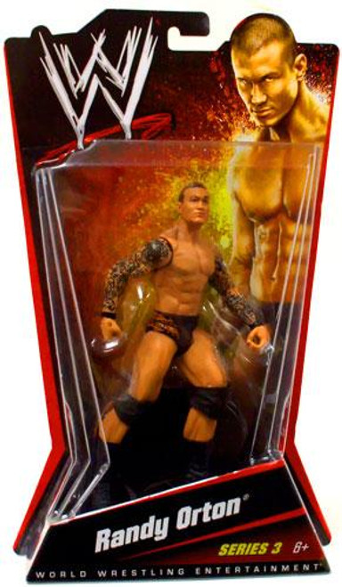 WWE Wrestling Series 3 Randy Orton Action Figure