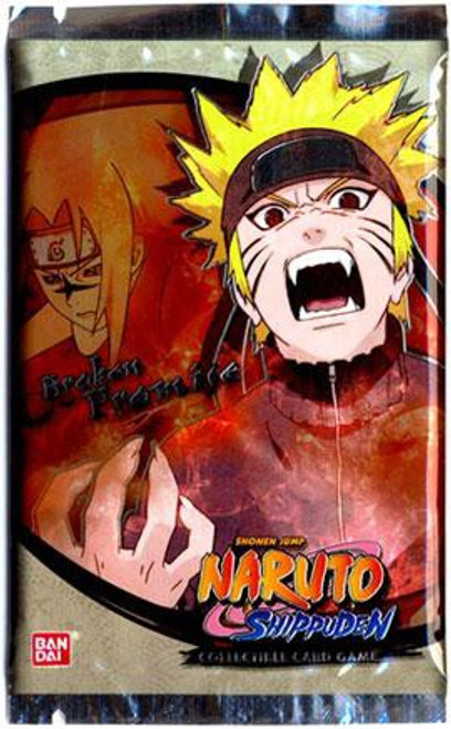 Naruto Shippuden Card Game Broken Promise Booster Pack