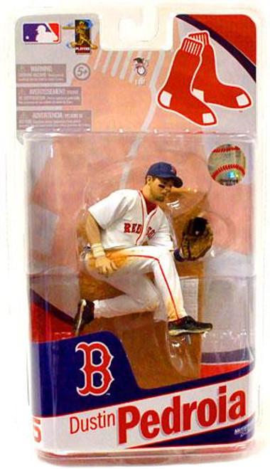 McFarlane Toys MLB Sports Picks 2010 Boston Red Sox Dustin Pedroia Action Figure