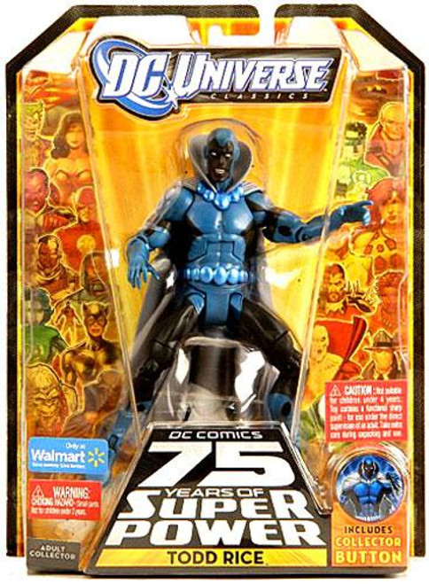 DC Universe 75 Years of Super Power Classics Todd Rice Exclusive Action Figure [Obsidian]