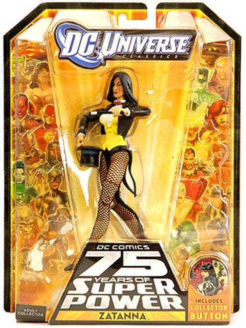 DC Universe 75 Years of Super Power Classics Zatanna Exclusive Action Figure