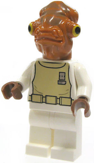 LEGO Star Wars Loose Admiral Ackbar Minifigure [Loose]