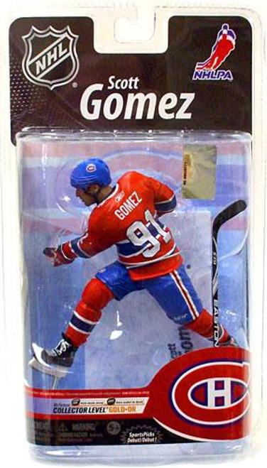 McFarlane Toys NHL Montreal Canadiens Sports Picks Series 25 Scott Gomez Exclusive Action Figure [Exclusive]
