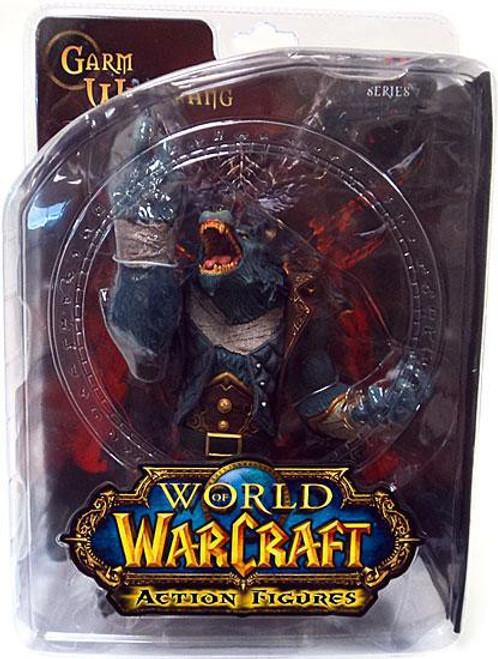 World of Warcraft Series 7 Garm Whitefang Action Figure [Worgen]