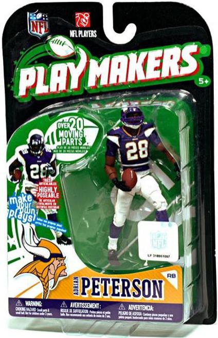 McFarlane Toys NFL Minnesota Vikings Playmakers Series 1 Adrian Peterson Action Figure