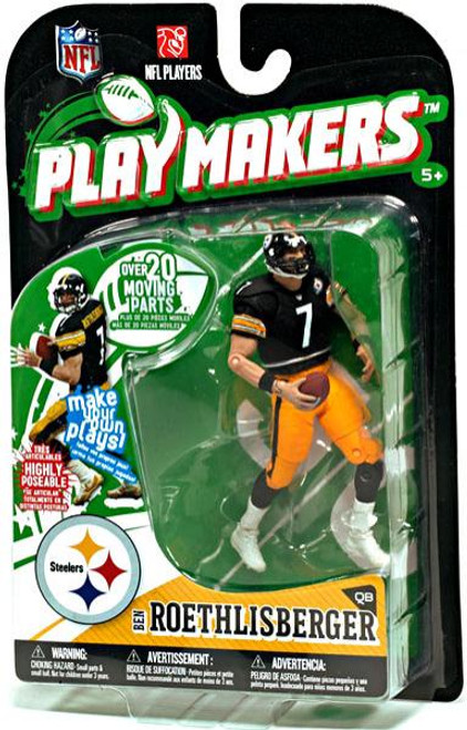 McFarlane Toys NFL Pittsburgh Steelers Playmakers Series 1 Ben Roethlisberger Action Figure