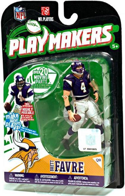 McFarlane Toys NFL Minnesota Vikings Playmakers Series 1 Brett Favre Action Figure