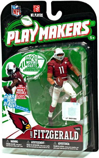 McFarlane Toys NFL Arizona Cardinals Playmakers Series 1 Larry Fitzgerald Action Figure
