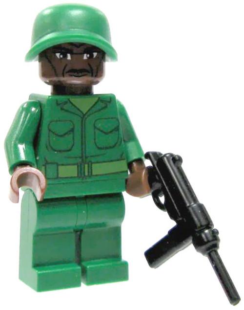 LEGO Custom Loose U.S. Submachine Gunner Minifigure [Loose]