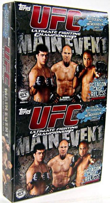 UFC 2010 Round 3 Main Event Trading Card Box [Value Rak Pak]